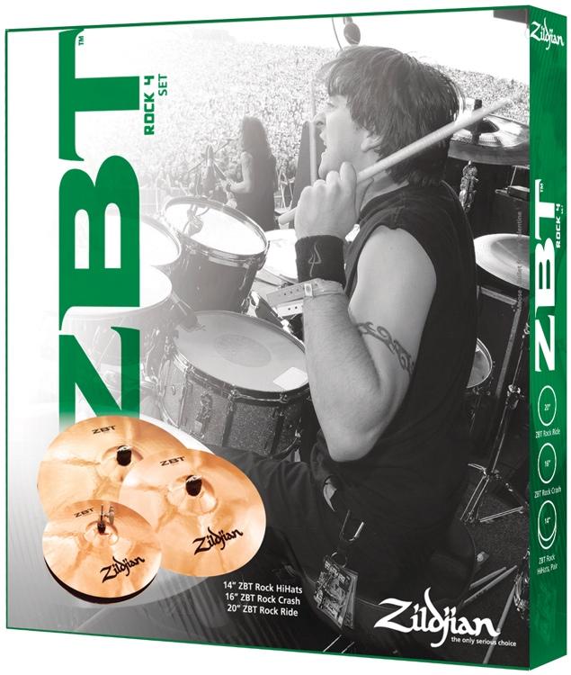 Zildjian ZBT 4 Rock Box Set image 1