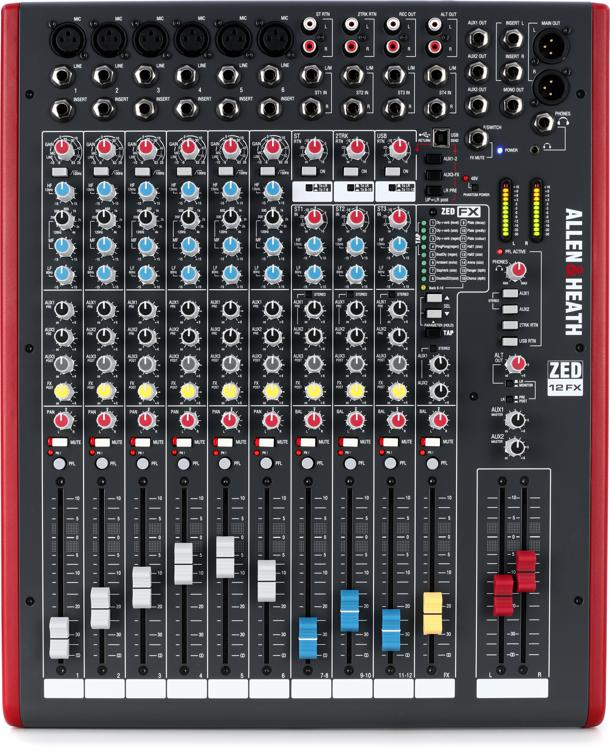 Allen & Heath ZED-12FX image 1