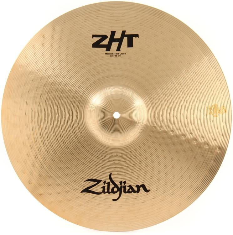 Zildjian ZHT Series Medium Thin Crash - 18