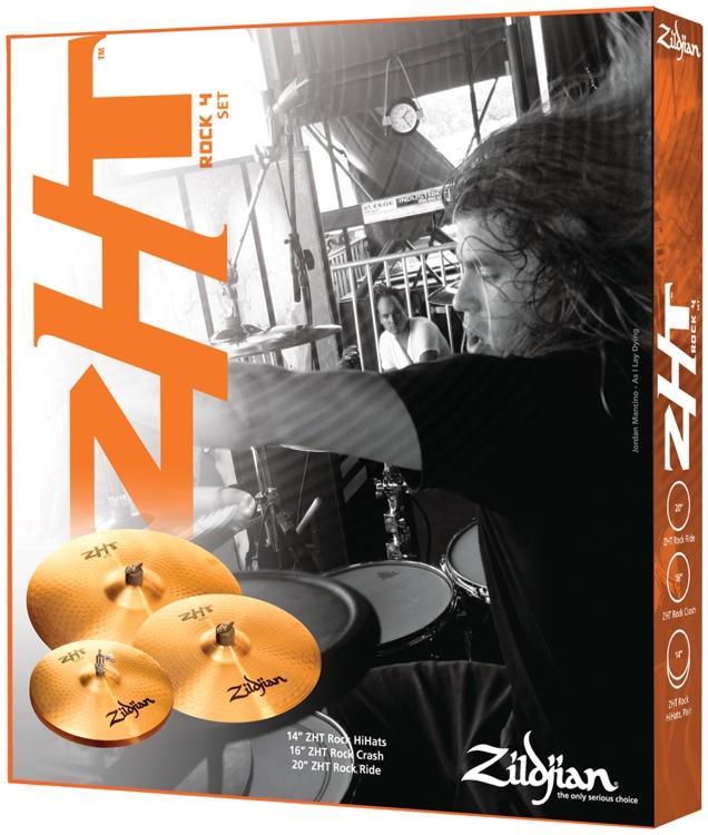 Zildjian ZHT 4 Rock Box Set image 1
