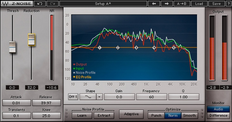 Waves Z-Noise Plug-in for Academic Institutions - Native image 1