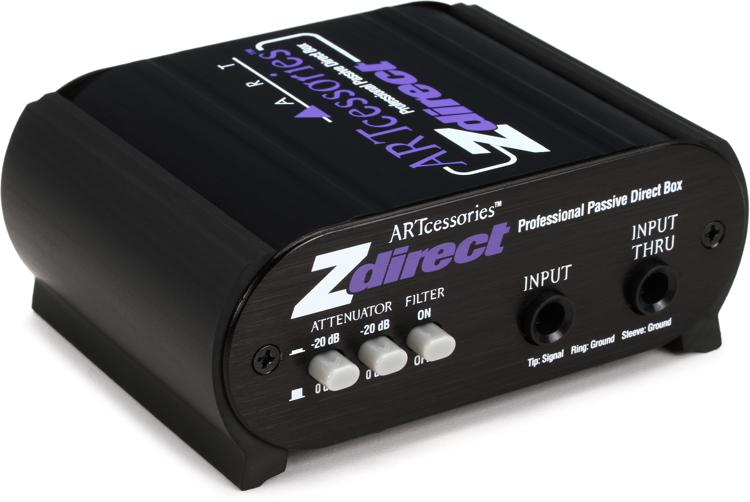 ART ZDirect 1-channel Passive Instrument Direct Box image 1