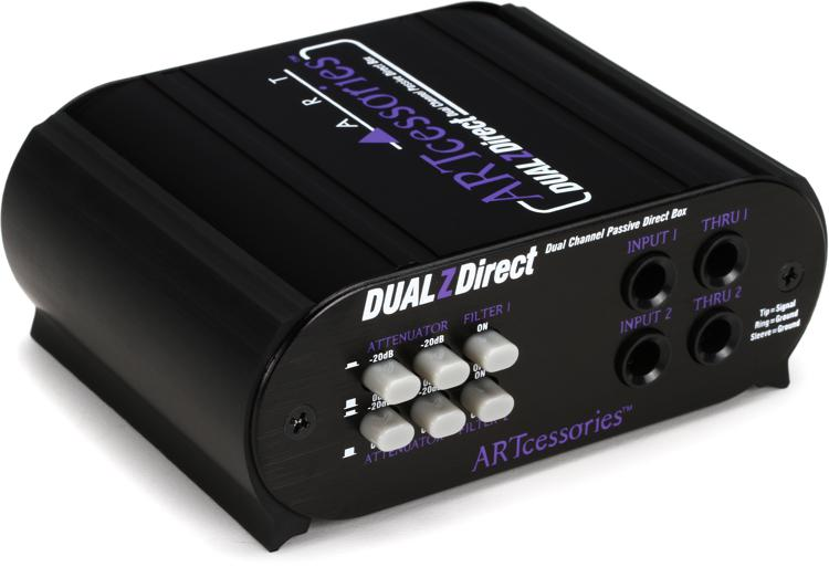 ART DUALZDirect 2-channel Passive Direct Box image 1