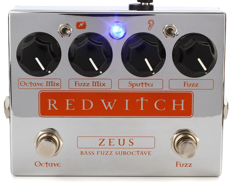 Red Witch Zeus Bass Fuzz Sub-octave Pedal image 1