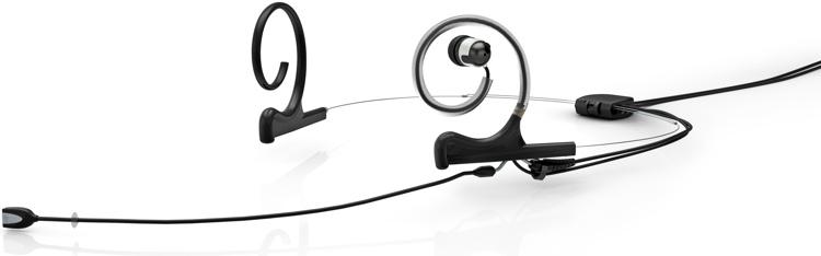 DPA d:fine In-Ear Broadcast Headset Microphone - Dual-Ear, Single In-Ear, Directional, Black image 1