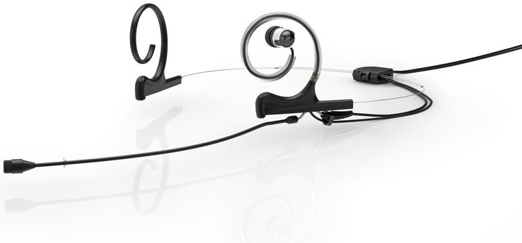 DPA d:fine 66 In-Ear Broadcast Headset Microphone Dual-Ear, Single In Ear, Omni66, Black image 1