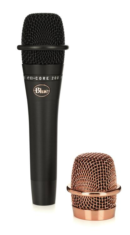 Blue Microphones enCORE 200 Black - Active Dynamic Handheld Microphone image 1