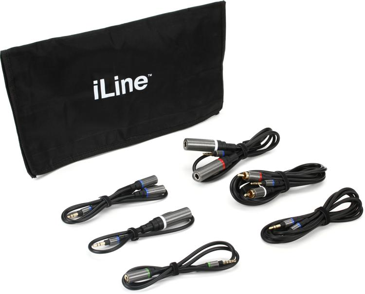 IK Multimedia iLine Mobile Music Cable Kit image 1