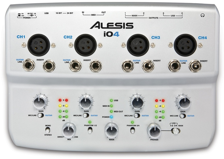 Alesis iO4 image 1