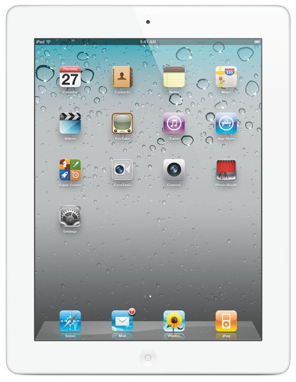 Apple iPad 2 - 16GB Wi-Fi, White image 1