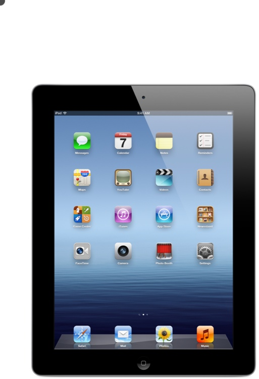 Apple iPad - AT&T 4G, 64GB Black image 1