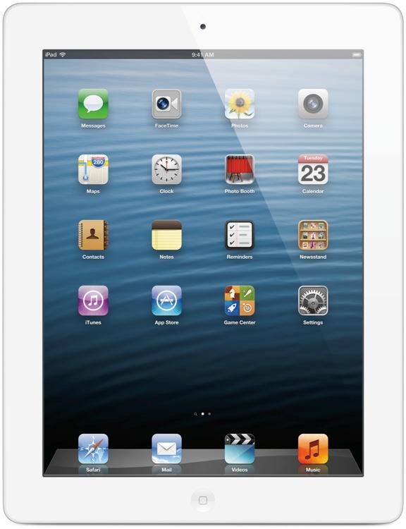 Apple iPad with Retina Display - Wi-Fi + 4G, Sprint, 16GB White image 1