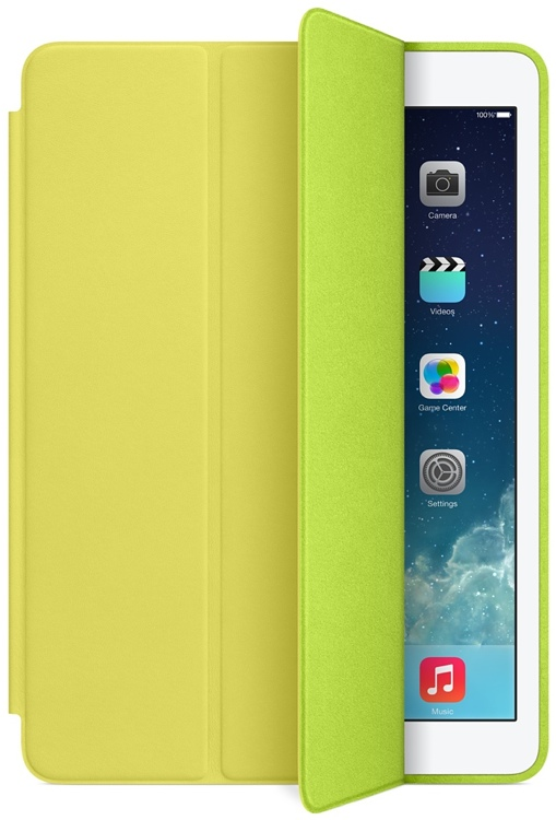 Apple Smart Case for iPad Air - Yellow image 1