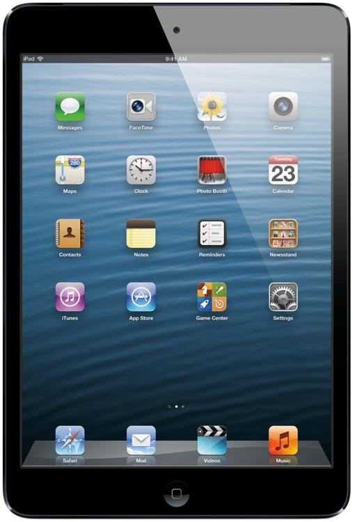 Apple iPad mini - Wi-Fi + 4G, Sprint, 16GB Black image 1