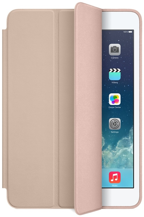 Apple iPad mini Smart Case - Beige image 1
