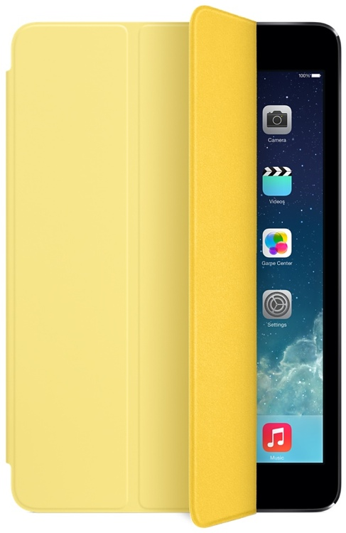 Apple iPad mini Smart Cover - Yellow image 1