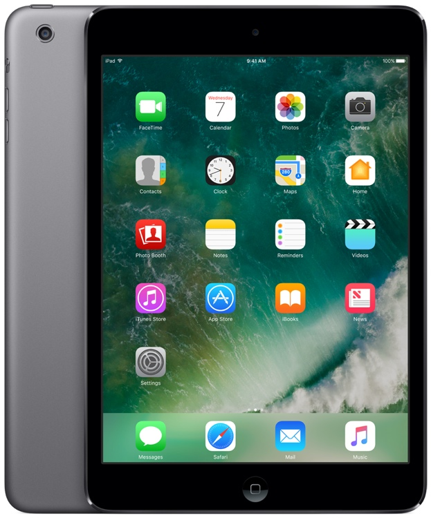 Apple iPad mini 2 with Retina Display Wi-Fi 32GB - Space Gray image 1