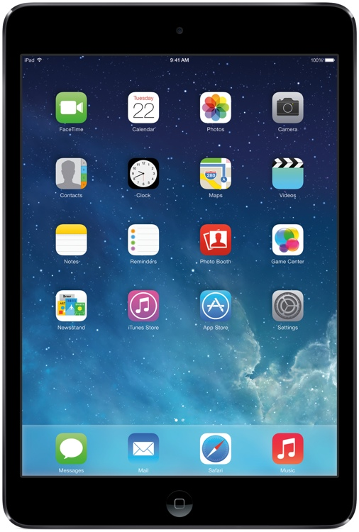 Apple iPad mini 2 with Retina Display AT&T Cellular 64GB - Space Gray image 1