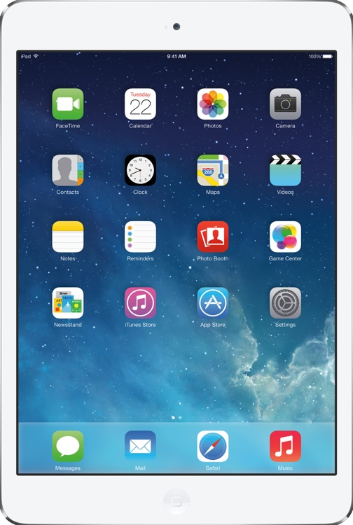 Apple iPad mini with Retina Display AT&T Cellular 128GB - Silver image 1