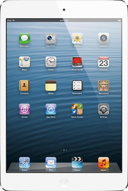 Apple iPad mini - Wi-Fi + 4G, AT&T, 16GB White image 1