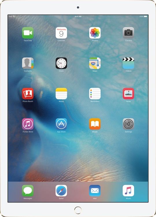 Apple iPad Pro Wi-Fi 128GB - Gold image 1