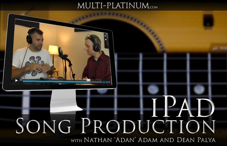 Multi Platinum iPad Production Singer/Songwriter Interactive Course image 1