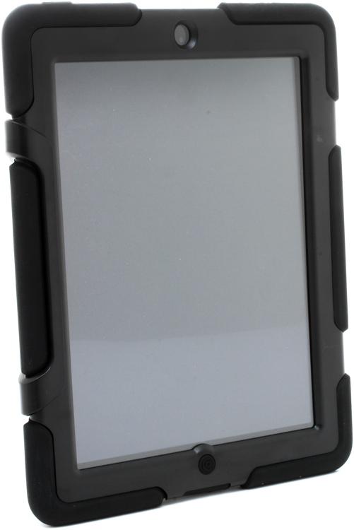 Griffin Survivor - Black Rugged Case for iPad 2,3,4 image 1