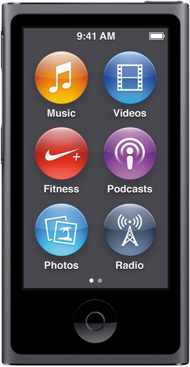Apple iPod nano - 16GB - Space Gray image 1