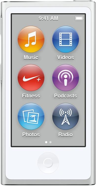 Apple iPod nano - 16GB - Silver image 1