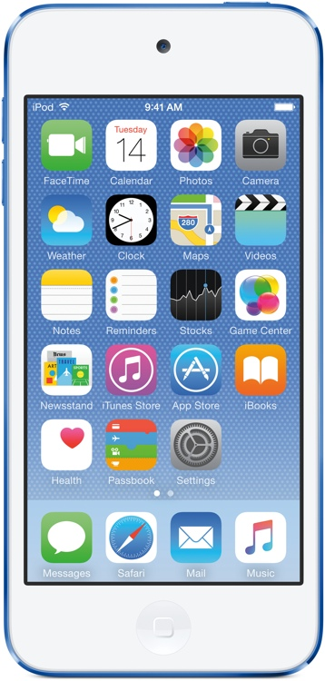 Apple iPod touch - 16GB - Blue image 1
