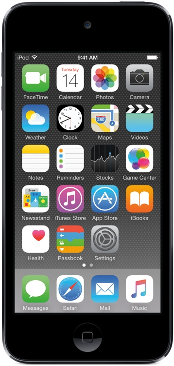 Apple iPod touch - 64GB - Space Gray image 1