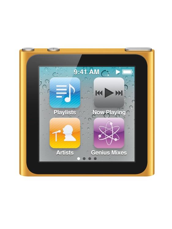 Apple iPod nano - 16GB - Orange image 1