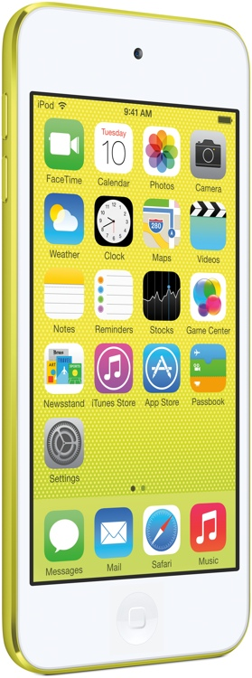 Apple iPod touch - 16GB - Yellow image 1