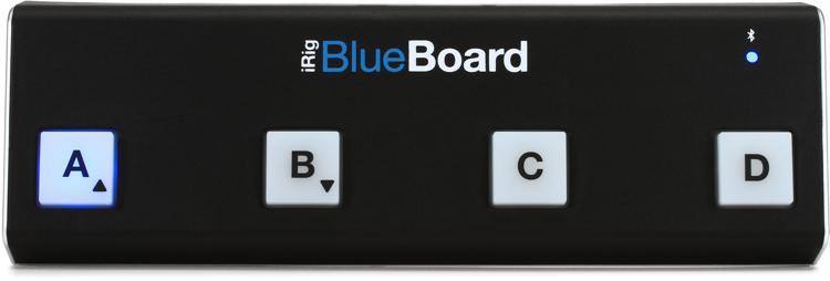 IK Multimedia iRig BlueBoard Bluetooth MIDI Pedalboard image 1