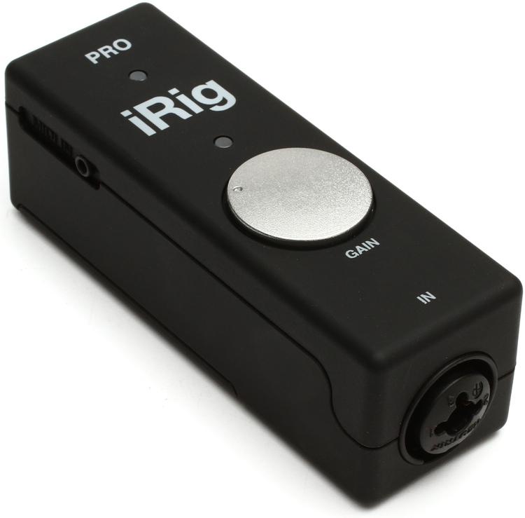 IK Multimedia iRig PRO Audio/MIDI Interface - iOS/Mac image 1