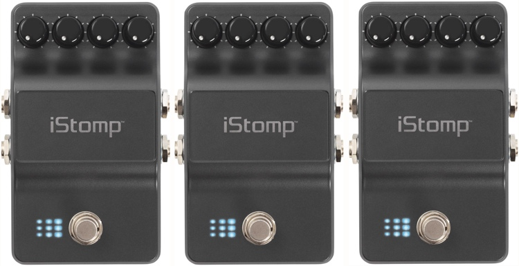 DigiTech iStomp 3-Pack iPad/iPod/iPhone Stompbox with cables image 1