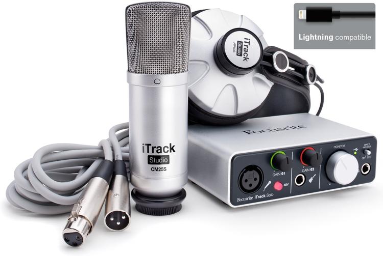 Focusrite iTrack Studio - Lightning Connector image 1