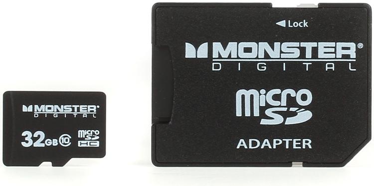 Monster Digital Bunker Class 10 microSD Card - 32GB image 1