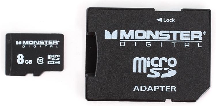 Monster Digital Bunker Class 10 microSD Card - 8GB image 1