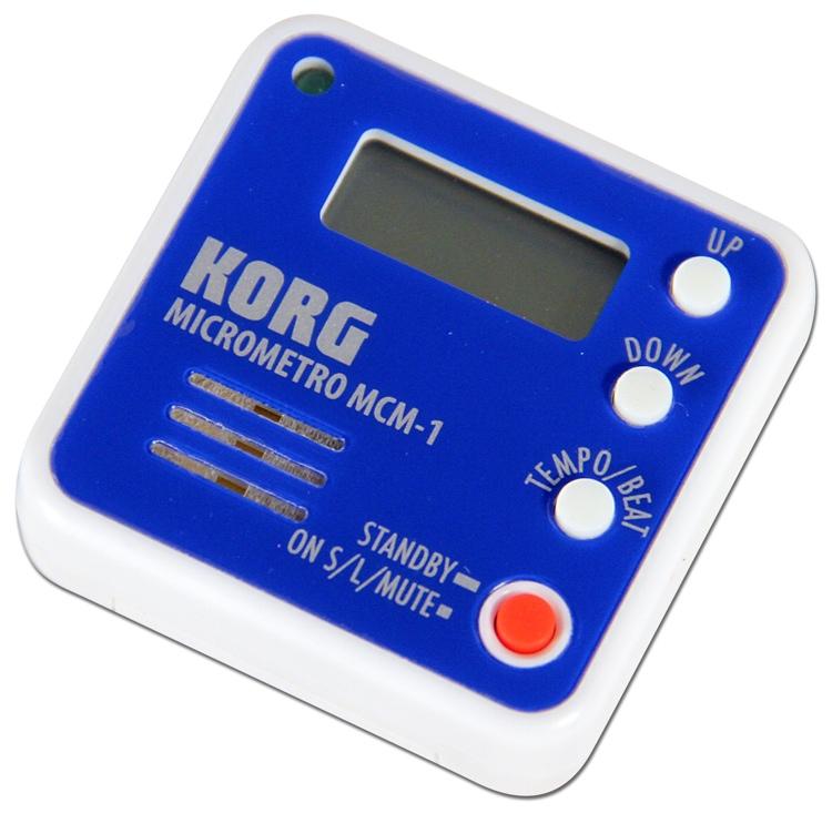 Korg MCM-1 Micrometro Clip-On Metronome - Blue image 1