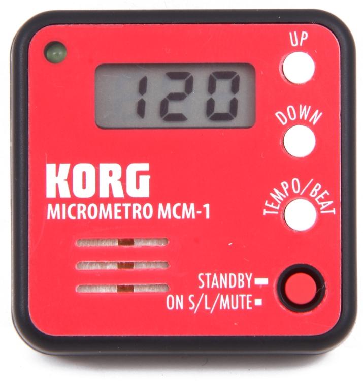 Korg MCM-1 Micrometro Clip-On Metronome - Red image 1