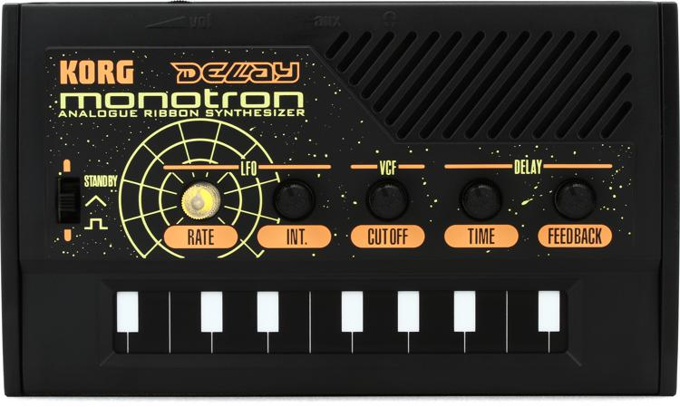 Korg monotron DELAY Analog Ribbon Synthesizer image 1