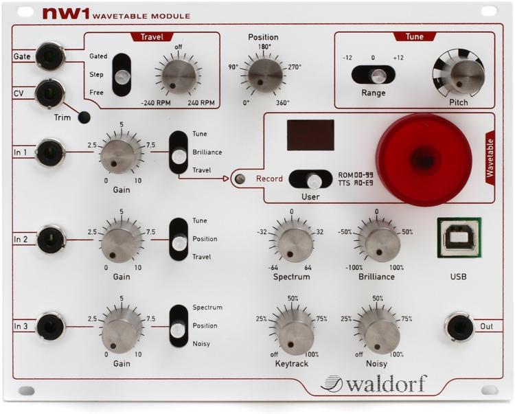 waldorf nw1 eurorack wavetable module sweetwater. Black Bedroom Furniture Sets. Home Design Ideas