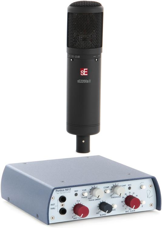 sE Electronics sE2200a II with Rupert Neve 5017 Preamp - Mic Month Bundle image 1