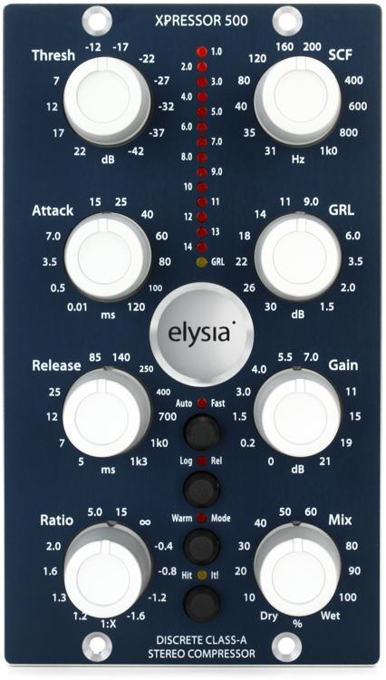 elysia xpressor 500 Stereo Compressor image 1
