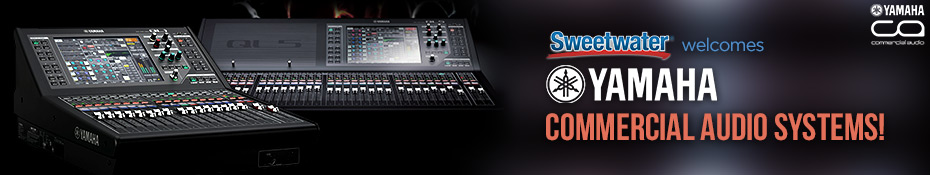 Yamaha commercial audio systems sweetwater for Yamaha commercial audio