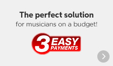 3 Easy Payments, The perfect solution for musicians on a budget