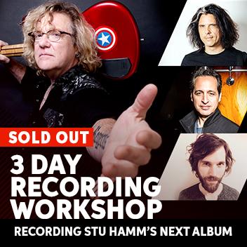 Stu Hamm Recording Workshop