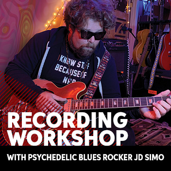 Recording Workshop Featuring J.D. Simo