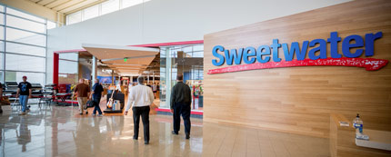 Sweetwater's Showroom | Sweetwater
